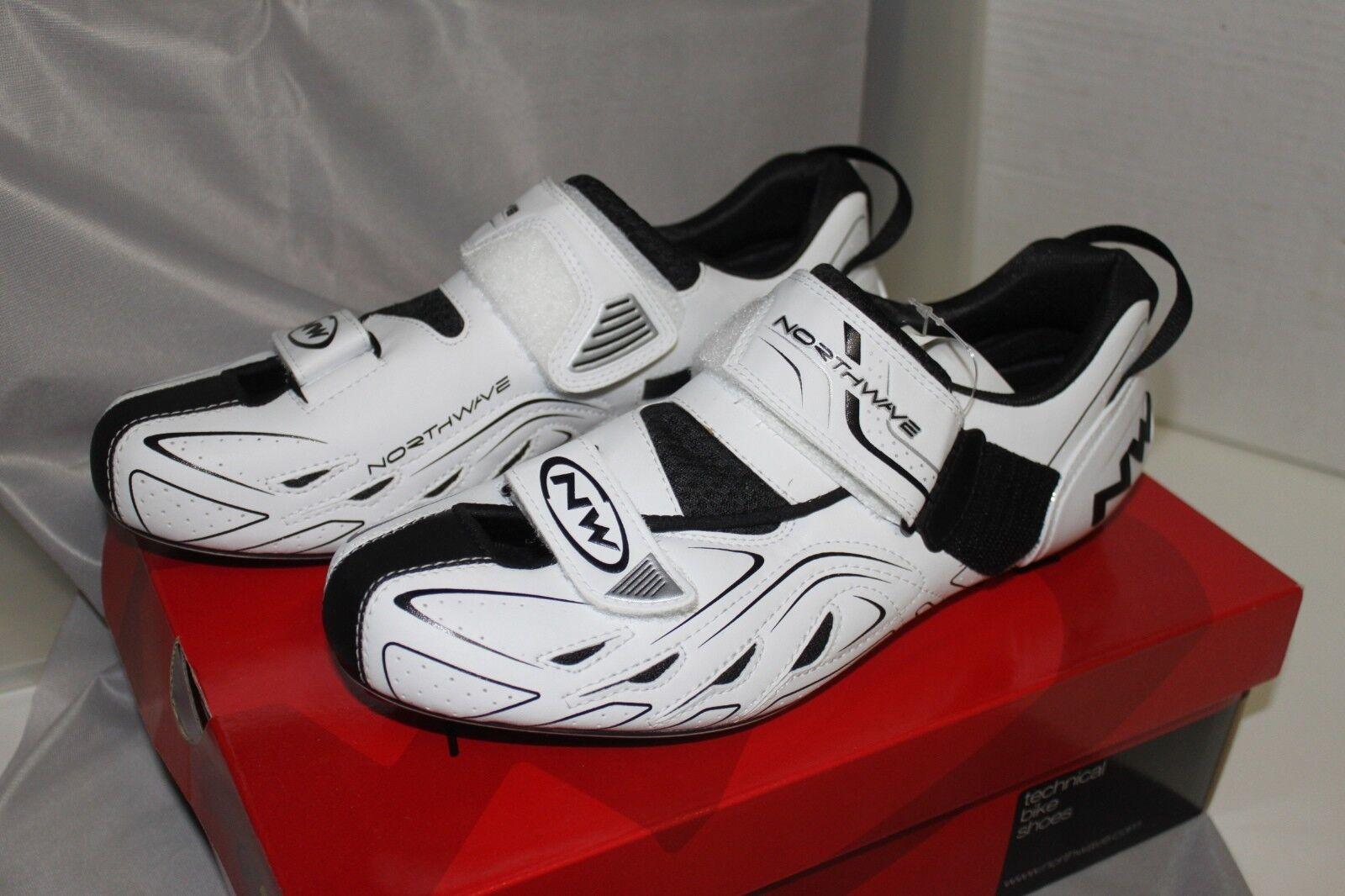 Northwave Tribute Triathlon Schuh Herren Weiß Schwarz Größe 41 UK UK UK 7,5 Uvp 18bfa5