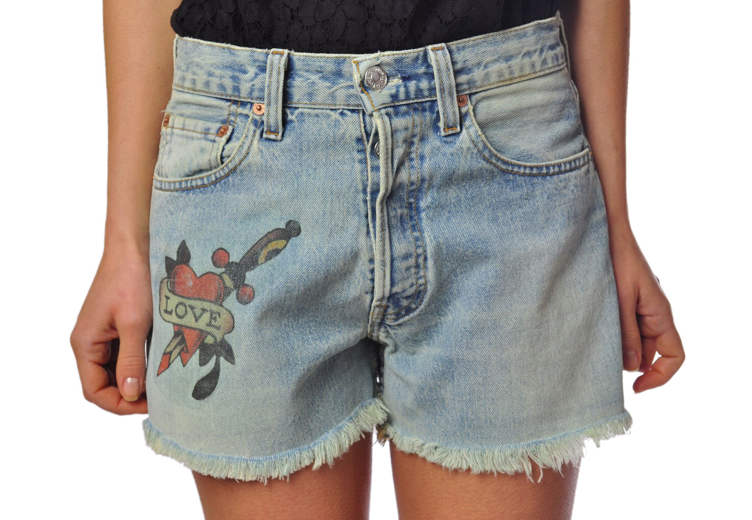 Different 501  -  Shorts - female - 28 - None - 256002B162829