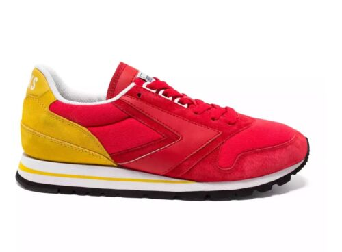 NIB BROOKS HERITAGE MENS CHARIOT 618 RETRO RED YELLOW SNEAKERS 8-12 KC CHIEFS