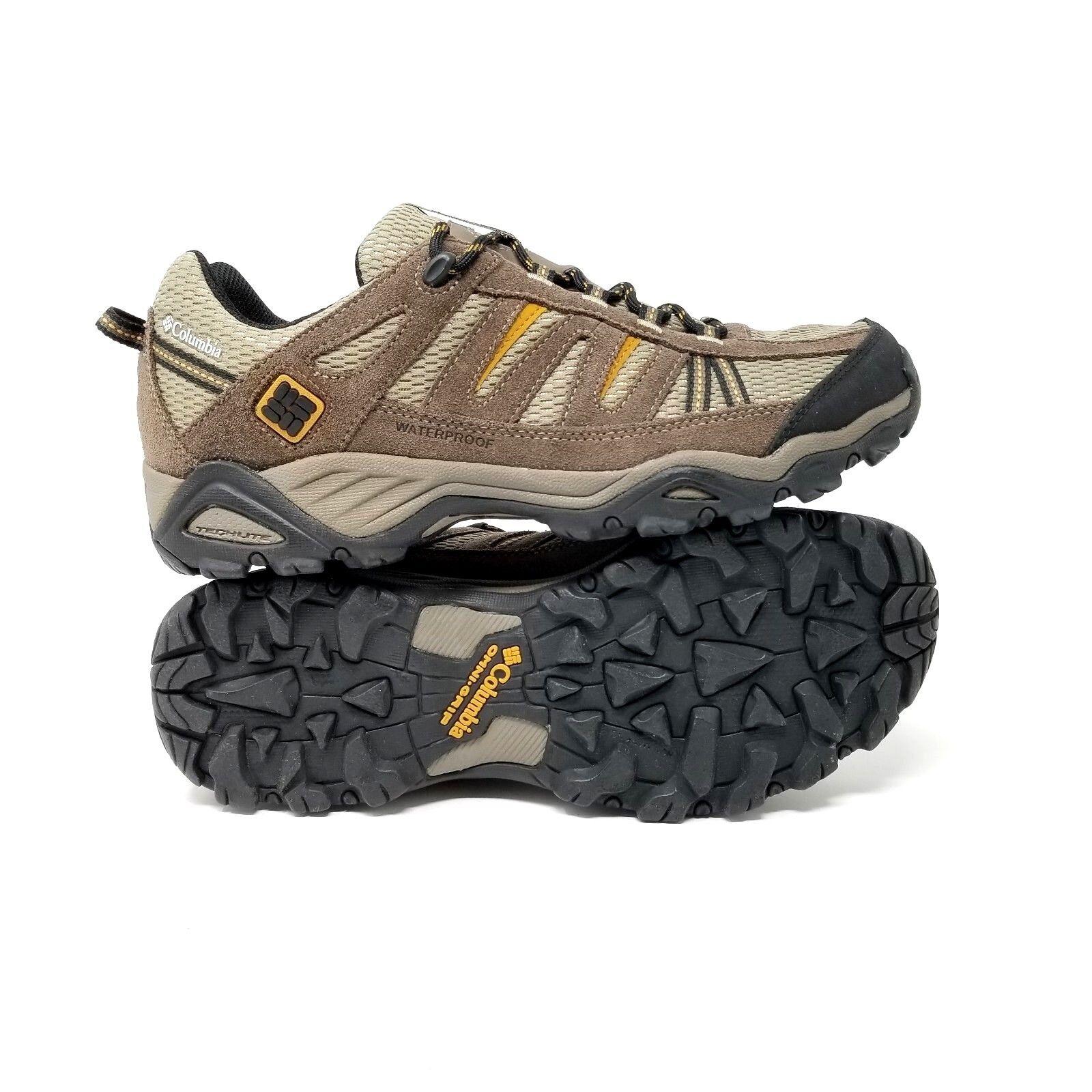Columbia Para Hombre North Plains Impermeable Zapatos De Gamuza Cuero Excursionista BM3896 Talla 11.5
