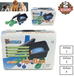 Super-FISH-AIR-BOX-Garden-Pond-Aeration-Kit-Set-1-2-ou-4-Air-Stone-AirLine-Tuyau