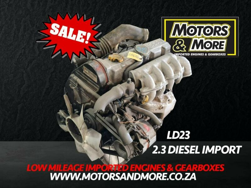 Nissan LD23 2.3L non Turbo Diesel Engine For Sale - No Trade in Needed