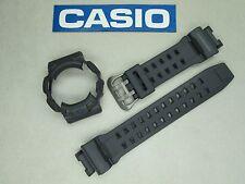 Genuine Casio G-Shock Gulfman GR-9110GY watch band & bezel grey titanium buckle