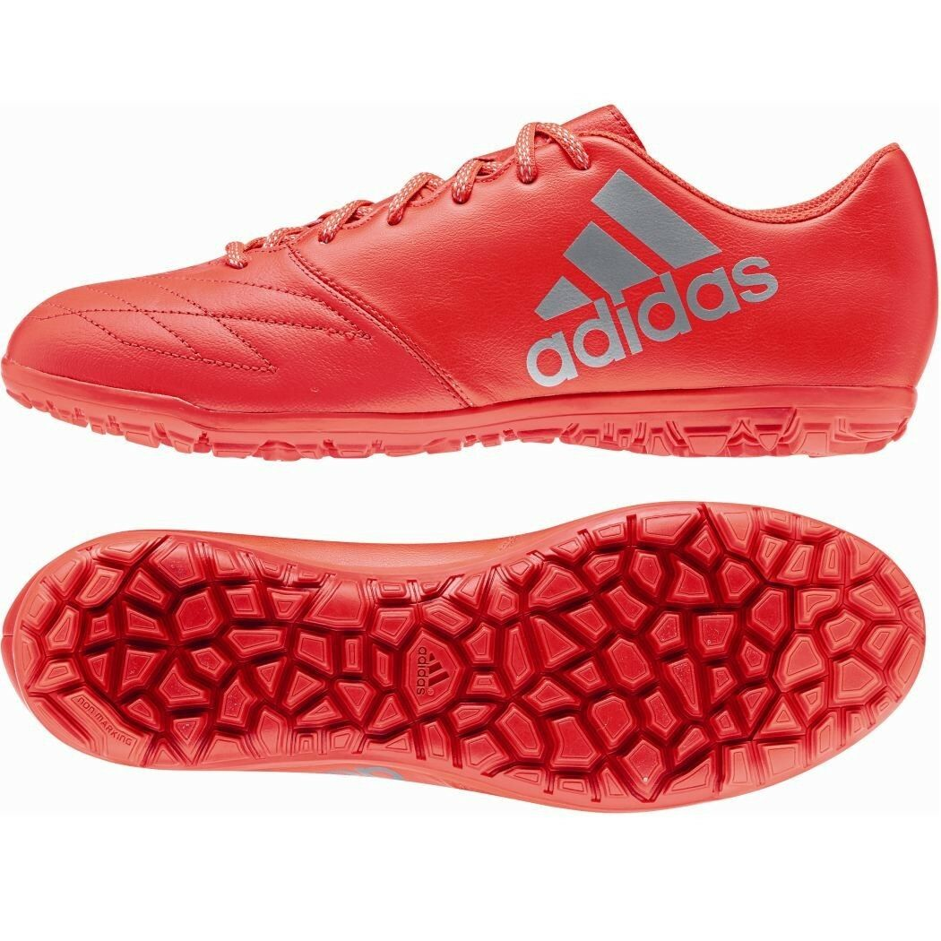 Adidas X 16.3 TF Leder Speed of Light Pack Multinockensohle Turf rot