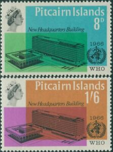 Pitcairn-Islands-1966-SG59-60-WHO-building-set-MLH