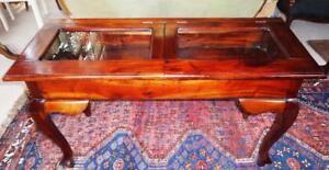 Table-Cabinet-Jewellery-Glas-Collector-Wardrobe-Showcase-Shop-Counter-Antique