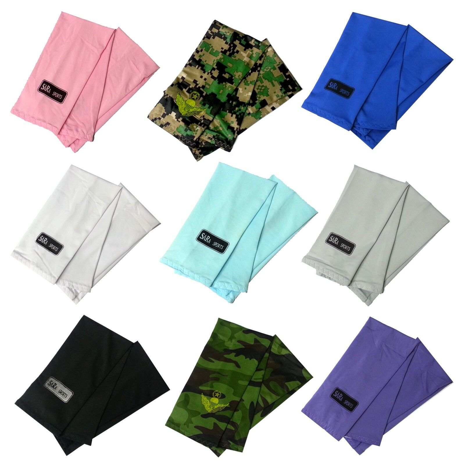 Sun Predective UV cover arm sleeves 9 color Athletic Sport cooling wholesale