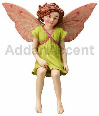 APPLE BLOSSOM FAERY Flower Fairy Ornament Cicely Mary Barker faerie figurine