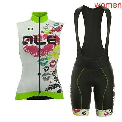 New summer cycling Jersey women sleeveless bike shirt sport uniform bicycle vest