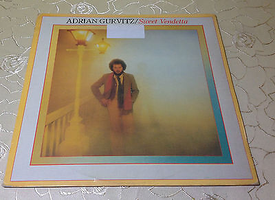 "ADRIAN GURVITZ (LP) ""SWEET VENDETTA"" [NL 1979 JET LP 220 VINYL /+OIS LYRICS]"