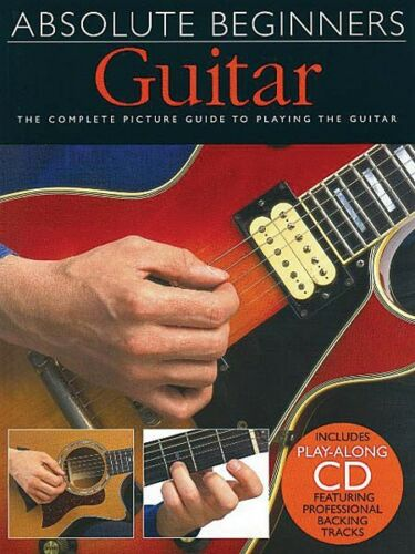 Book CD Pack Book and CD NEW 014001004 Absolute Beginners Guitar