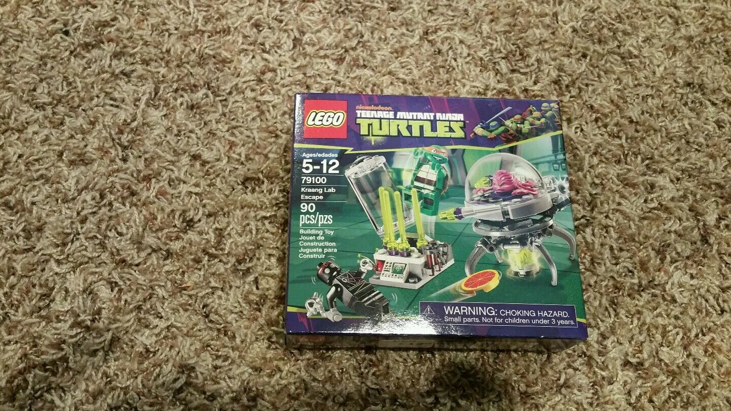 LEGO 79100 TEENAGE MUTANT NINJA TURTLES KRAANG KRAANG KRAANG LAB ESCAPE NEW IN BOX 255e18