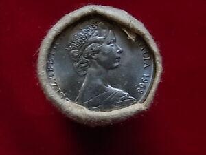 Australia-1968-20-Cent-Mint-Roll-20-coins-UNC-BU-In-RAM-wrapper