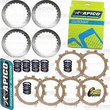Apico Clutch Kit Steel Friction Plates & Springs For KTM SX 65 2010 Motocross