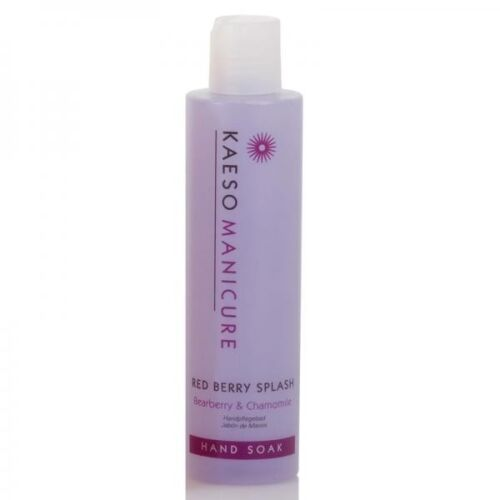 Kaeso Red Berry Splash Hand Soak for Professional Manicure 195ml