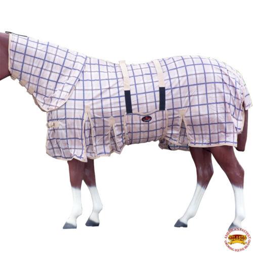 "66-84/"" Hilason Uv Protect Mesh Mosquito Bug Horse Fly Sheet Summer Spring U-N-MX"