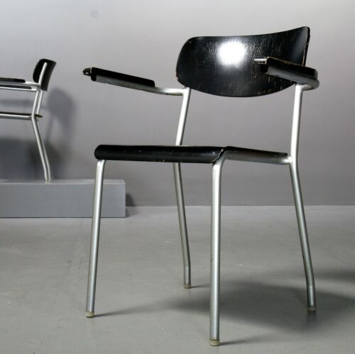 1 of 7 Eron Chair-Ferdinand KRAMER for the Goethe University of Frankfurt 1960