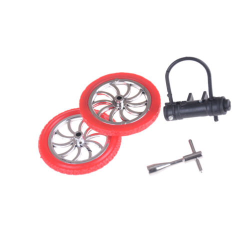 Mini Finger BMX Bicycle Flick Trix Finger Bikes Toys Novelty Gag Kids Gift TDO
