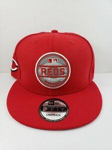 Cincinnati-Reds-new-era-snapback-hat-men-039-s-MLB-9fifty