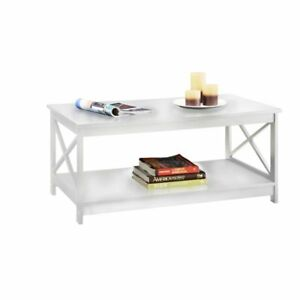 Groovy Convenience Concepts Oxford Coffee Table White Caraccident5 Cool Chair Designs And Ideas Caraccident5Info