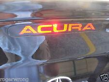 Acura Honda Integra RSX 3rd brake light decal overlay 2002