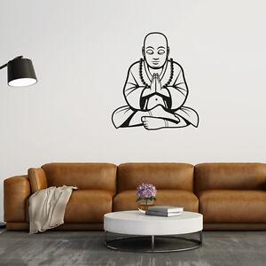 Wandtattoo-Buddha-Figur-Meditation-Aufkleber-Wall-Art-Wand-Tattoo-2097