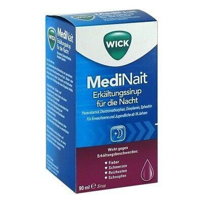 WICK MediNait Erkaeltungssaft 90ml PZN 02702315