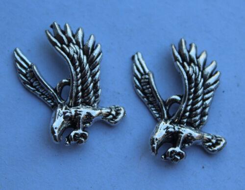 10//30pcs Retro style eagle Charm Pendant DIY Jewellery crafts 26x16mm