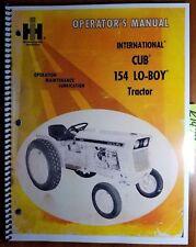 Ih International Cub 154 Lo Boy Tractor Owner Operator Manual 1084151 R1 Rev1 73