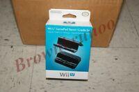 Nintendo Wii U Gamepad Cradle And Stand Black