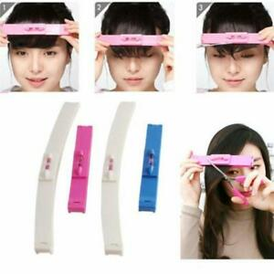 Women Girl Fashion Clipper Fringe Hair Cutting Guide Layer Bang Level Ruler Tool Personal Care Appliance Parts