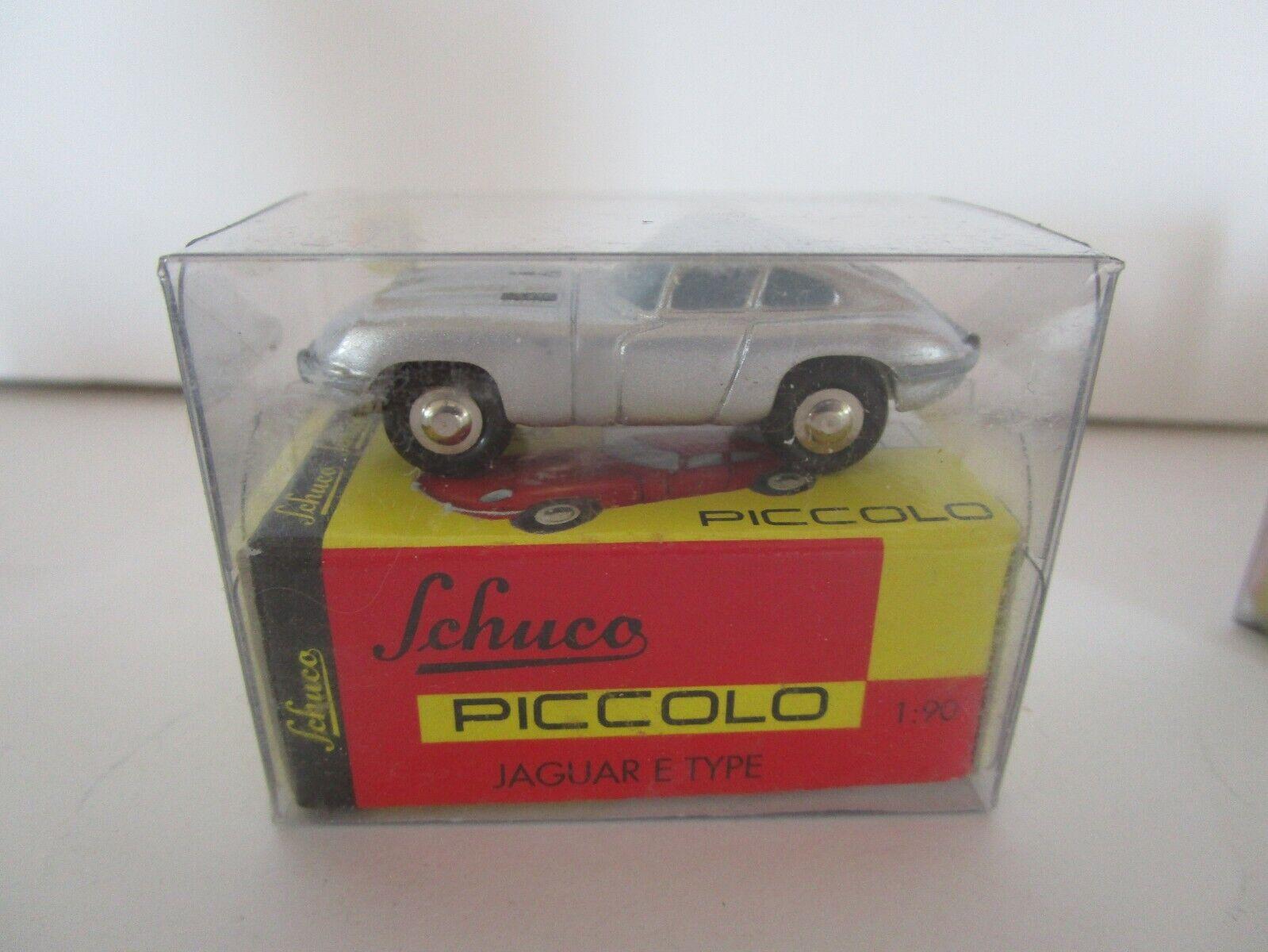 """Schuco Piccolo 450168200 Jaguar E-Type /""""HAPPY BIRTHDAY 2020/"""" NEU!"""