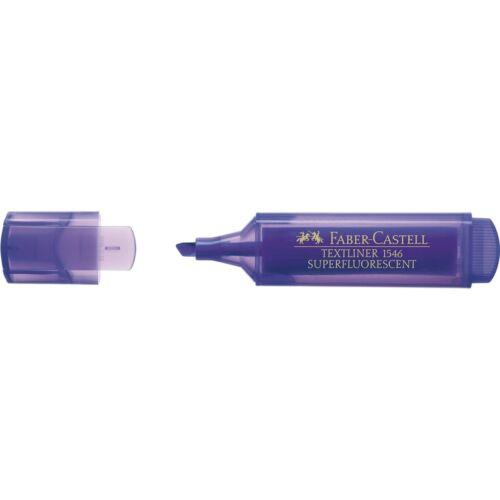 Marcador Fluorescente FABER-CASTELL Textliner 1546 Caja x10