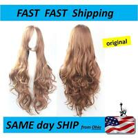 Wig Premium Light Brown Luxury Real Looking Quality