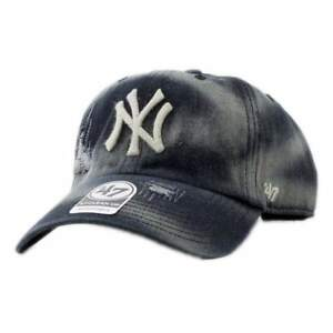 cddaa84c85d0a Cap 47 Brand Mlb New York Yankees Clean Up Curved V Relax Fit ...