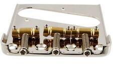 """Bridge fits Telecaster - Works with Bigsby w/o mods - Gotoh """"in Tune"""" Saddles"""