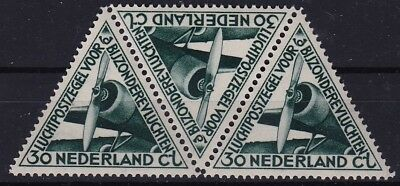 1933 Luchtpost Zegel Voor Bijzondere Vluchten 30 Ct Nvph Lp 10 Postfrisse Strip Kortingen Prijs
