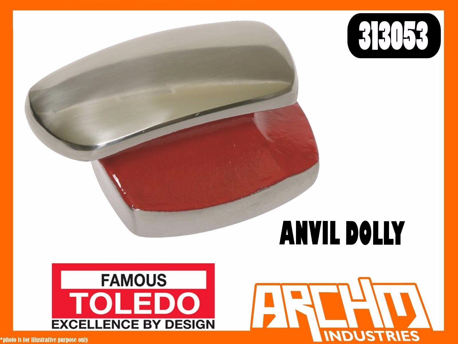 TOLEDO 313053 - ANVIL DOLLY - 95MM - GROUND POLISHED MIRROR FINISH TRADE DIY