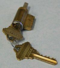 Schlage Knoblever Cylinder C Keyway 6 Pin Keyed 5 626 2 Keys New Old Stock