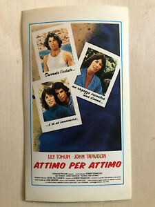 Poster Plakat Aufkleber Sticker 1978 John Travolta Attimo Per Atimo Erfrischung Aufkleber & Sticker