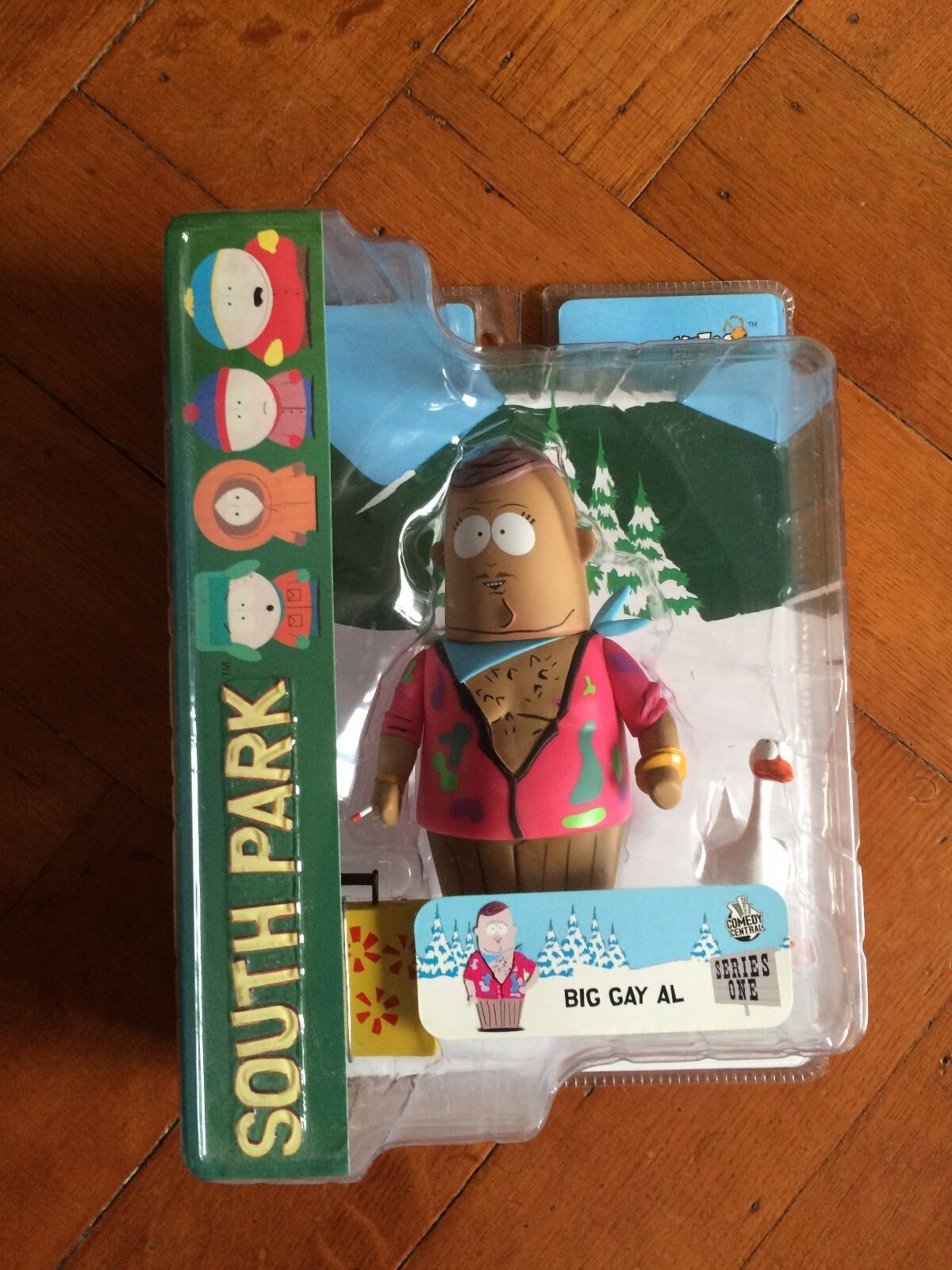 South Park Series 1, Big Gay Al,  Mezco 2018 New Sealed