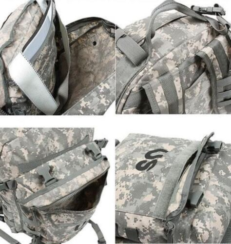 US ARMY ACU ASSAULT PACK 3 DAY MOLLE BACKPACK w// Stiffener and Pad VGC