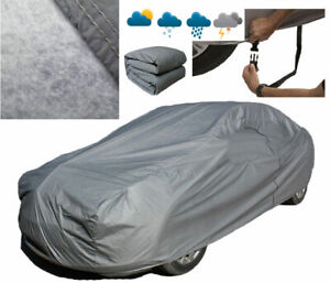 Heavy-2-2KG-Full-Car-Cover-100-Waterproof-Breathable-Outdoor-For-Audi-A4-A5-A6