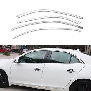 Full-Windows-Chrome-Molding-Trim-Decoration-Strips-For-Chevrolet-Malibu-2013-15