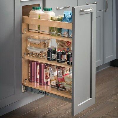 8 Inch Wide Maple Kitchen Cabinet Base