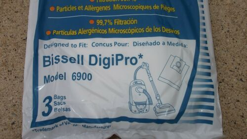 Micro Filtration Vacuum Bag fit Bissell DigiPro Canister  Model  6900 Part 32115