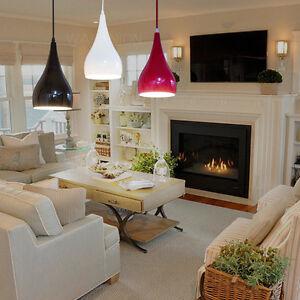 Modern-Teardrop-Lampshade-Pendant-Light-Ceiling-Lighting-Chandelier-Fixture