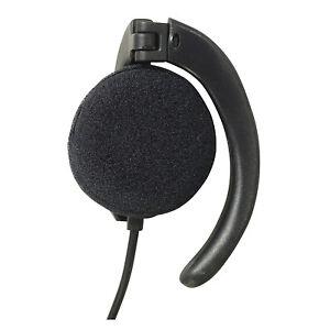 soundlab mono earphone phone radio 1 m lead and 3 5 mm. Black Bedroom Furniture Sets. Home Design Ideas