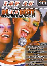 De 40 beste Nederlandse karaokehits (2 DVD)
