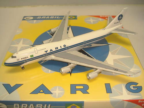 Bigbird 500 Varig Brazil B747-400  1980s Coloreees  1 500